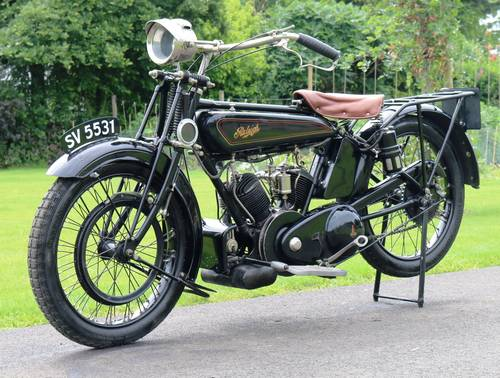 1921 Raleigh 800cc V-twin very rare bike runs great  For Sale (picture 2 of 6)