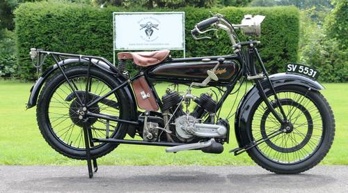 1921 Raleigh 800cc V-twin very rare bike runs great  For Sale (picture 3 of 6)