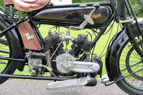 1921 Raleigh 800cc V-twin very rare bike runs great  For Sale (picture 5 of 6)