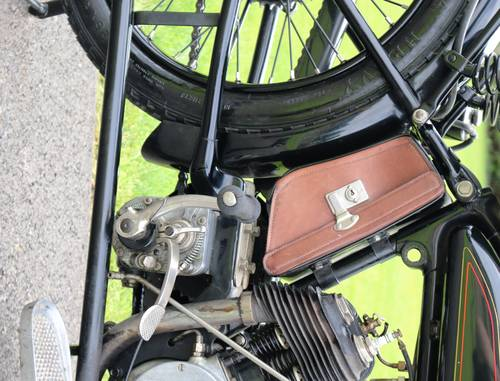 1921 Raleigh 800cc V-twin very rare bike runs great  For Sale (picture 6 of 6)