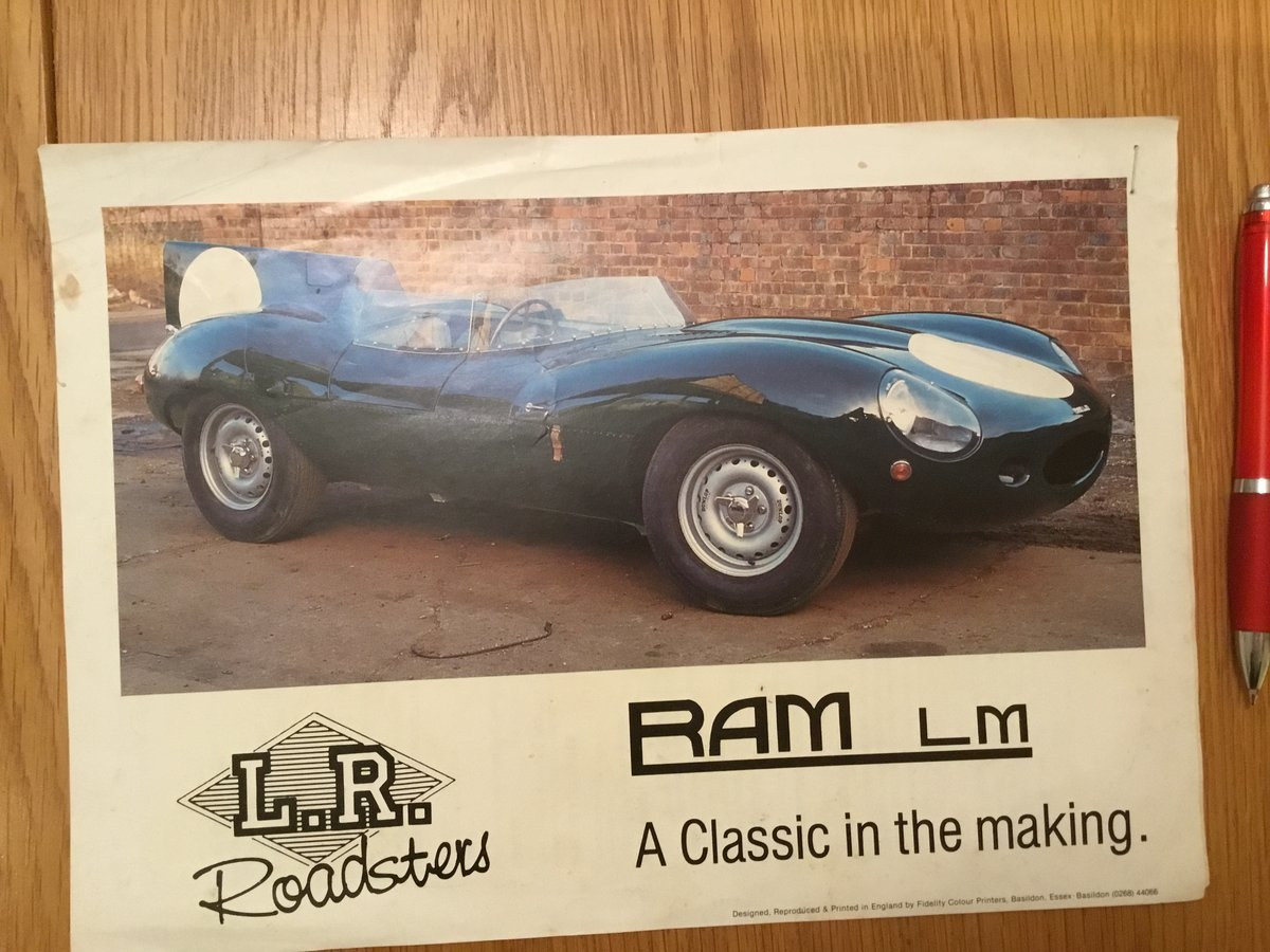1985 RAM LM D type brochure For Sale (picture 1 of 2)