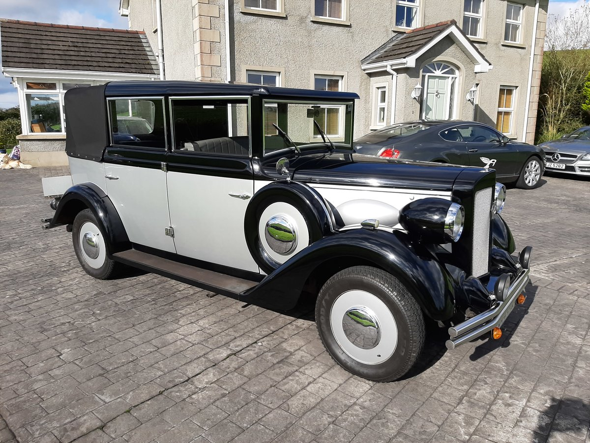 Regent Landaulet wedding Car