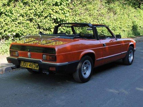 1980 Reliant Scimitar GTC - Very Original, MOT Sept SOLD (picture 3 of 6)