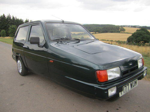1990 Reliant Robin Mk2 lx  Limited edition BRG B1 threewheeler For Sale (picture 1 of 6)