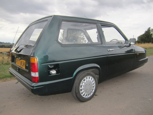 1990 Reliant Robin Mk2 lx  Limited edition BRG B1 threewheeler For Sale (picture 2 of 6)