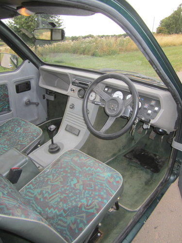1990 Reliant Robin Mk2 lx  Limited edition BRG B1 threewheeler For Sale (picture 3 of 6)