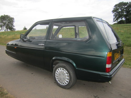 1990 Reliant Robin Mk2 lx  Limited edition BRG B1 threewheeler For Sale (picture 5 of 6)