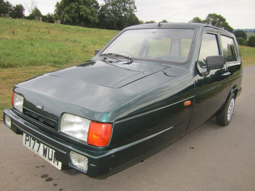 1990 Reliant Robin Mk2 lx  Limited edition BRG B1 threewheeler For Sale (picture 6 of 6)