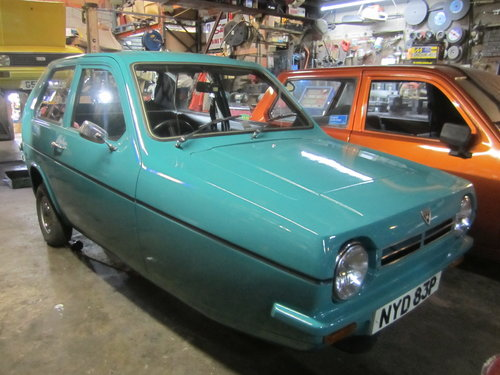 1976 Reliant Robin saloon Mk1 tax and MOT exempt threewheeler For Sale (picture 1 of 5)