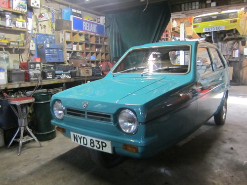 1976 Reliant Robin saloon Mk1 tax and MOT exempt threewheeler For Sale (picture 2 of 5)