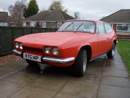 1975 reliant scimitar gte se5a manual For Sale (picture 1 of 6)