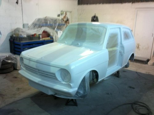 1972 Reliant  Rebel Saloon fully restored tax exempt SOLD (picture 6 of 6)