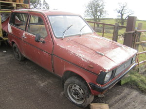 1977 Reliant Kitten estate mk1 B1 project  SOLD