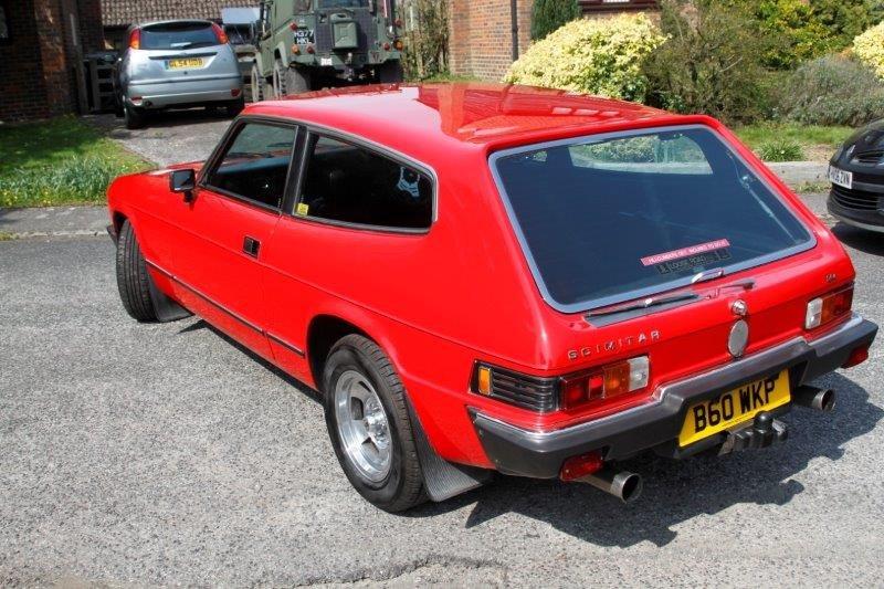 Reliant Scimitar Cosworth SE6B 1985 24v 2.9 Auto For Sale (picture 4 of 6)