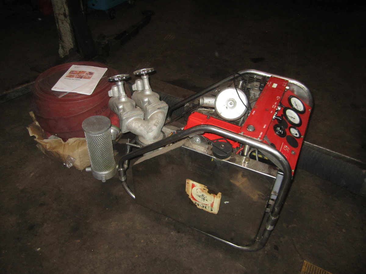Reliant Angus firepump kit For Sale (picture 1 of 3)