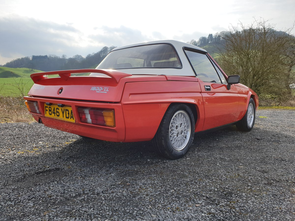 Lovely Scimitar 1800ti 1988. Very low ownership. For Sale (picture 1 of 5)