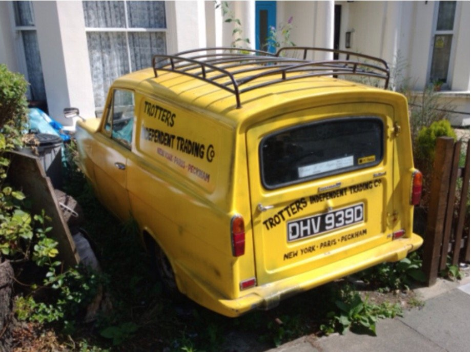 1966 One of these BBC TVs Little yellow Del Boys Van SOLD (picture 2 of 6)