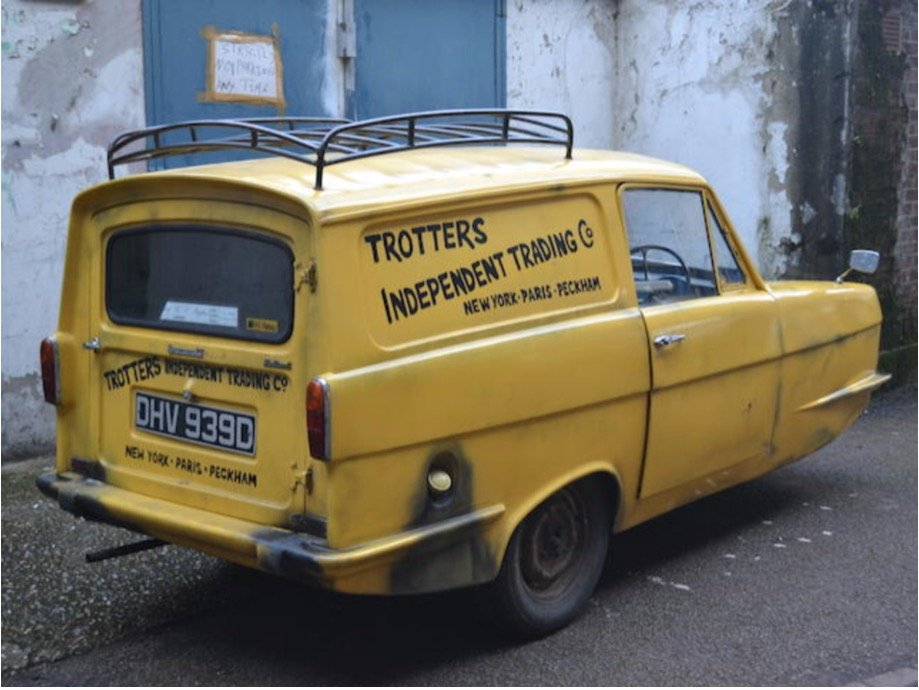 1966 One of these BBC TVs Little yellow Del Boys Van SOLD (picture 3 of 6)
