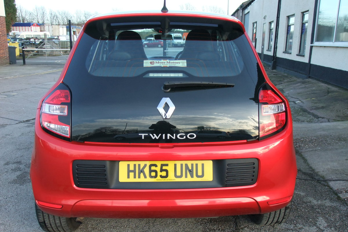 2015 RENAULT TWINGO 0.9 DYNAMIQUE S ENERGY TCE S/S 5DR For Sale (picture 5 of 5)