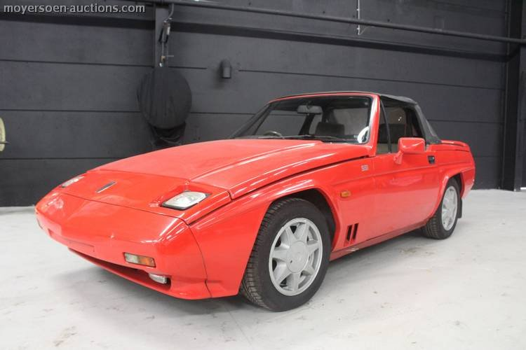 1989 RELIANT Scimitar SS1 Spider For Sale by Auction (picture 1 of 4)
