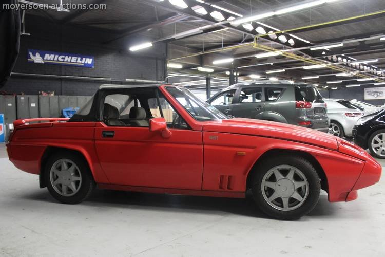 1989 RELIANT Scimitar SS1 Spider For Sale by Auction (picture 4 of 4)