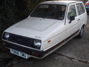 1989 Reliant three wheeler 1988 For Sale