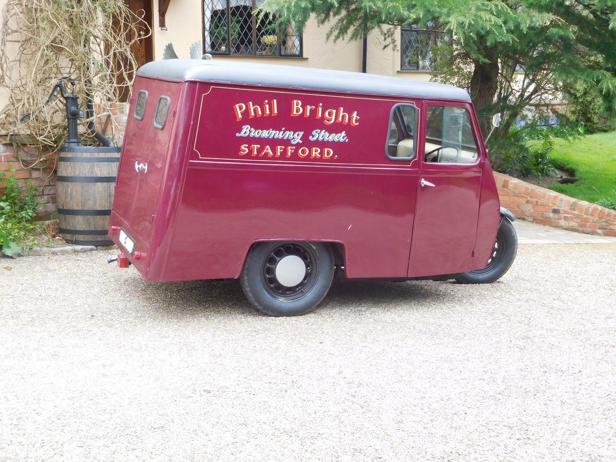 Reliant 10 CWT Van 1950 For Sale (picture 1 of 5)