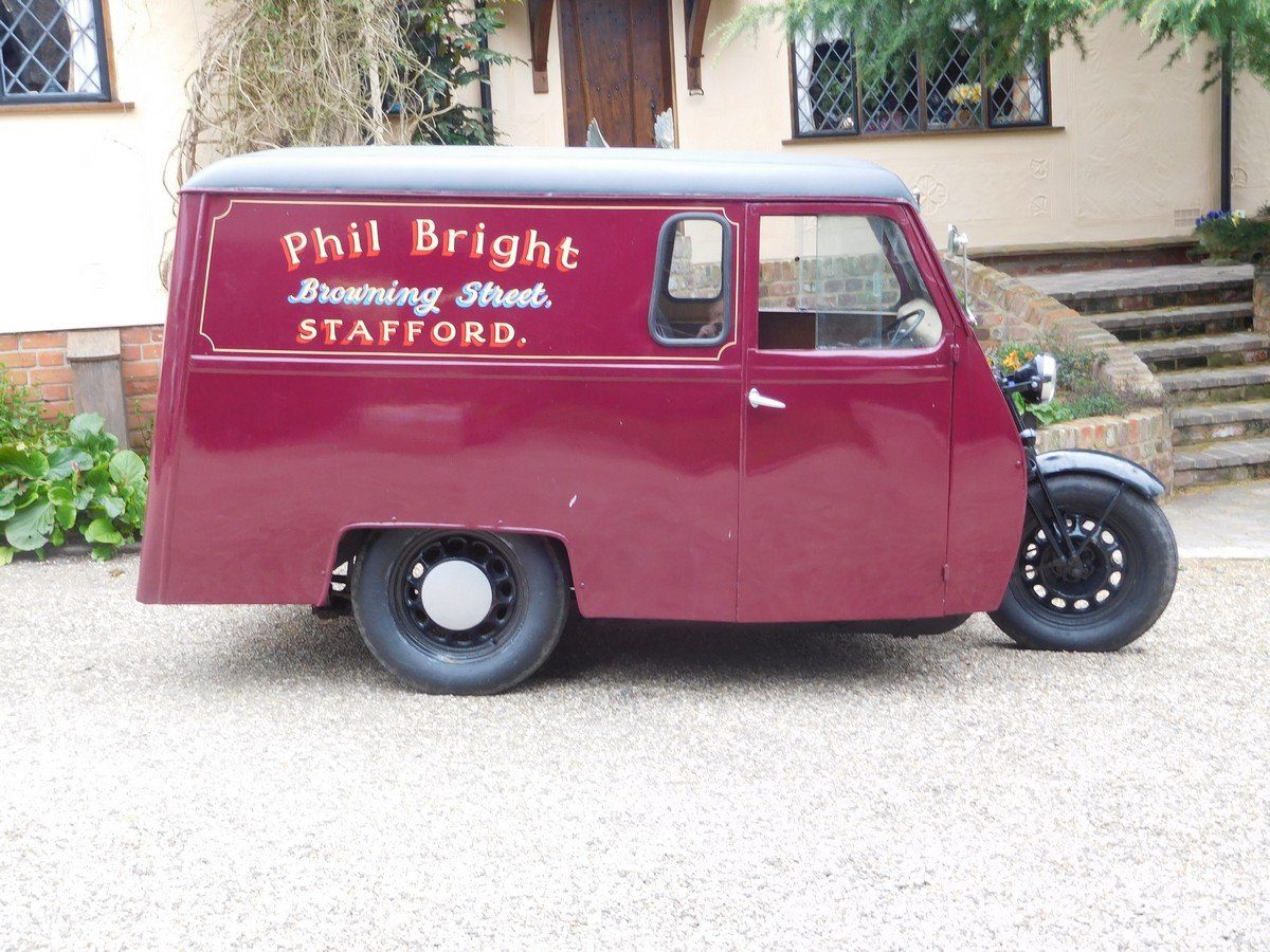 Reliant 10 CWT Van 1950 For Sale (picture 2 of 5)