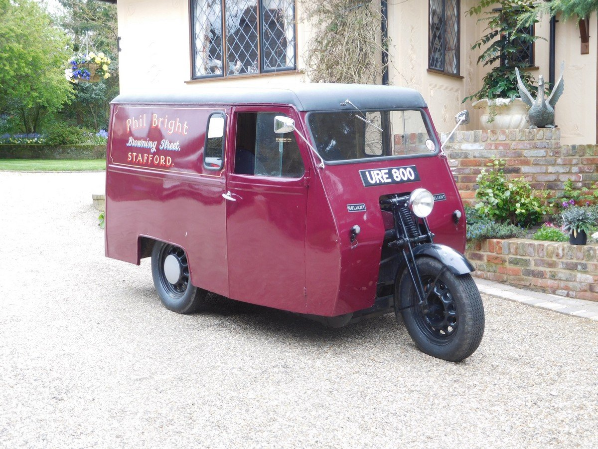 Reliant 10 CWT Van 1950 For Sale (picture 3 of 5)