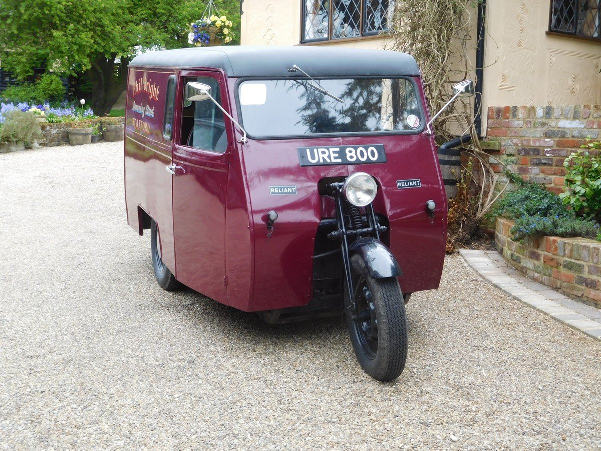Reliant 10 CWT Van 1950 For Sale (picture 4 of 5)