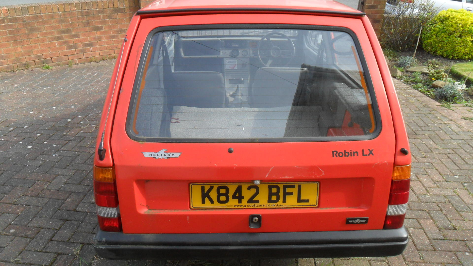Reliant Robin LX Mk2 1993 SOLD (picture 6 of 6)
