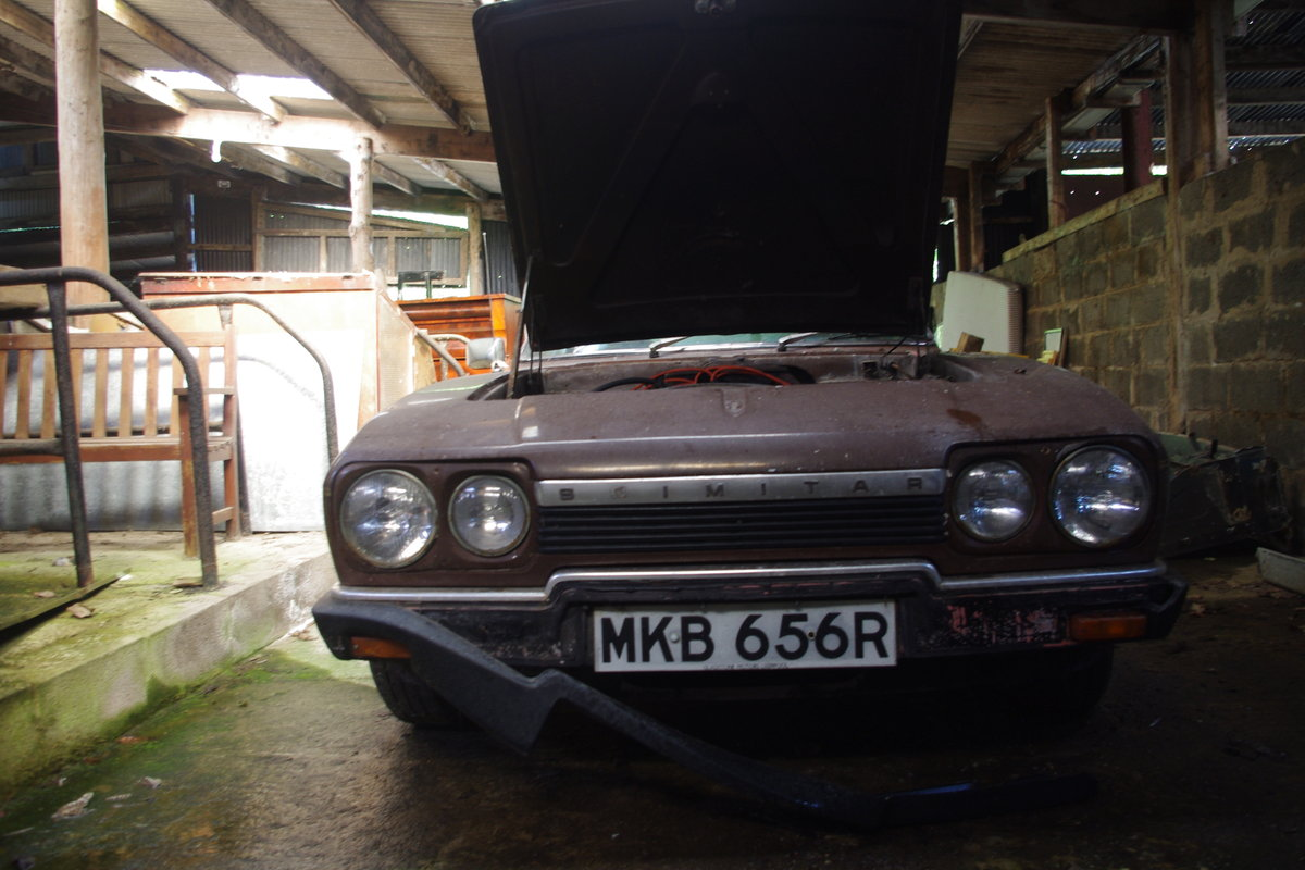 1977 Scimitar for spares or repair For Sale (picture 2 of 6)