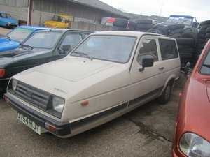 1987 Reliant Rialto estate  , 2 owners , low miles SOLD