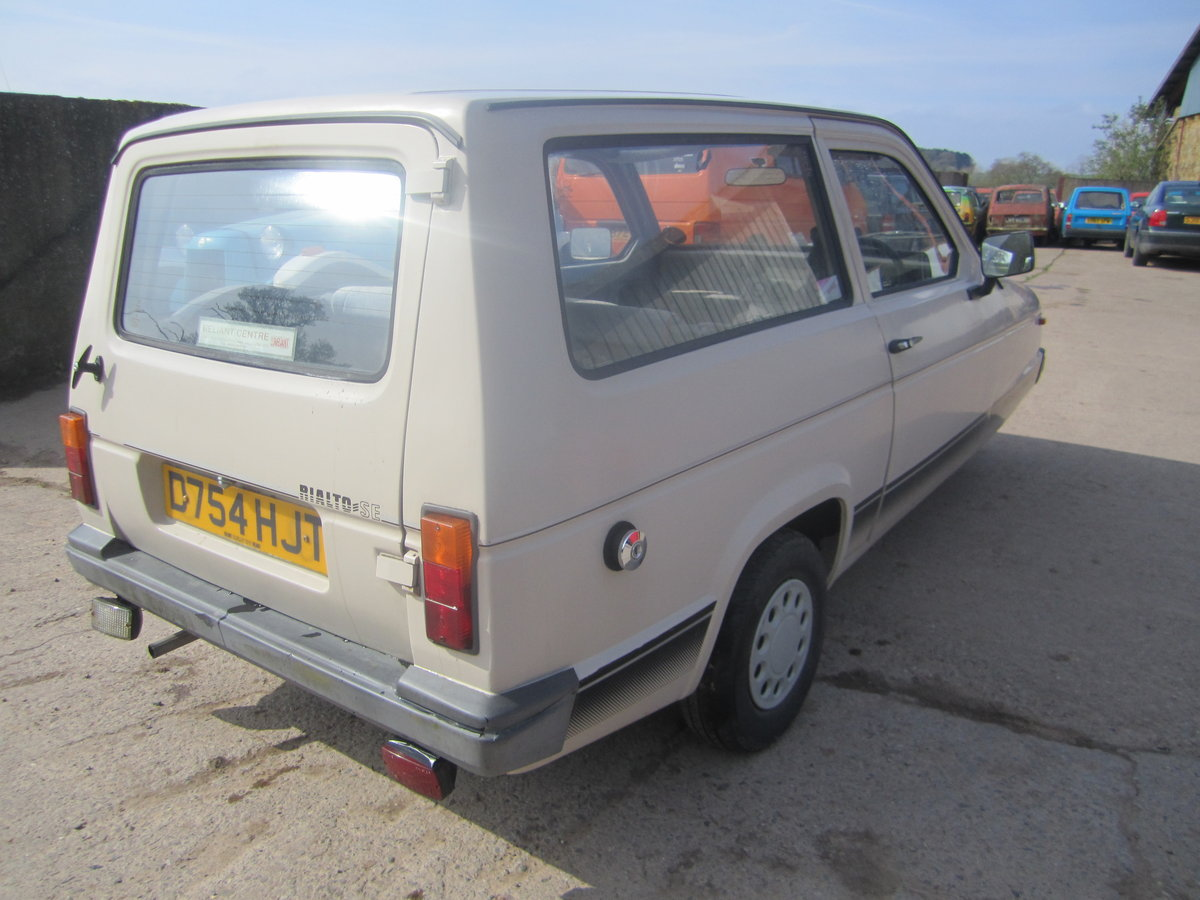 1987 Reliant Rialto estate  , 2 owners , low miles SOLD (picture 3 of 6)