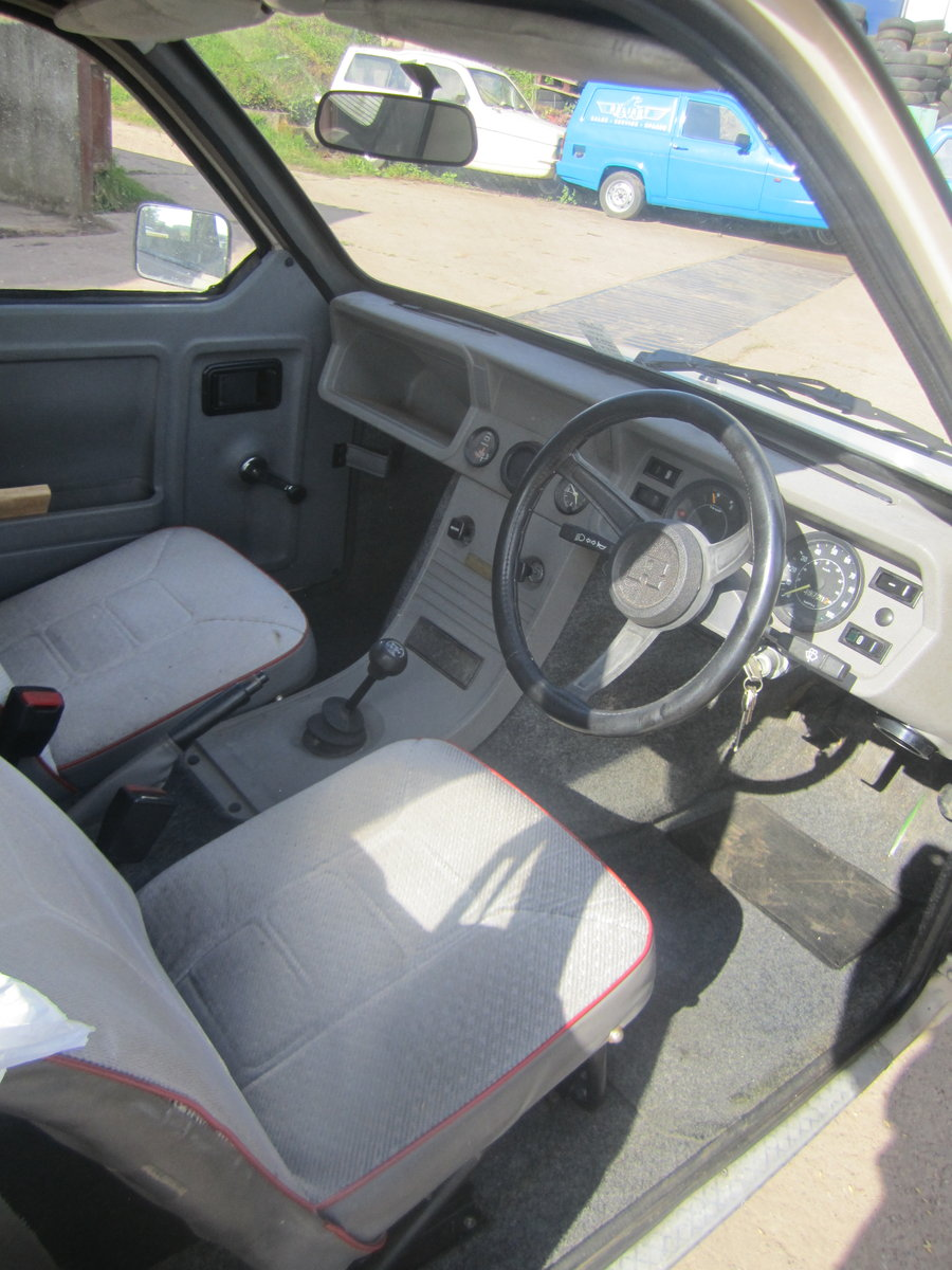 1987 Reliant Rialto estate  , 2 owners , low miles SOLD (picture 5 of 6)