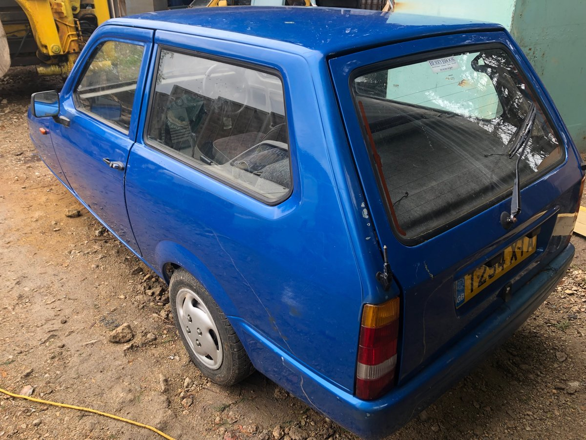 1999 Reliant Robin SLX, Great Project, Rare Car now! For Sale (picture 3 of 6)