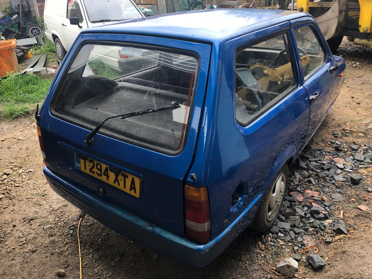 1999 Reliant Robin SLX, Great Project, Rare Car now! For Sale (picture 4 of 6)