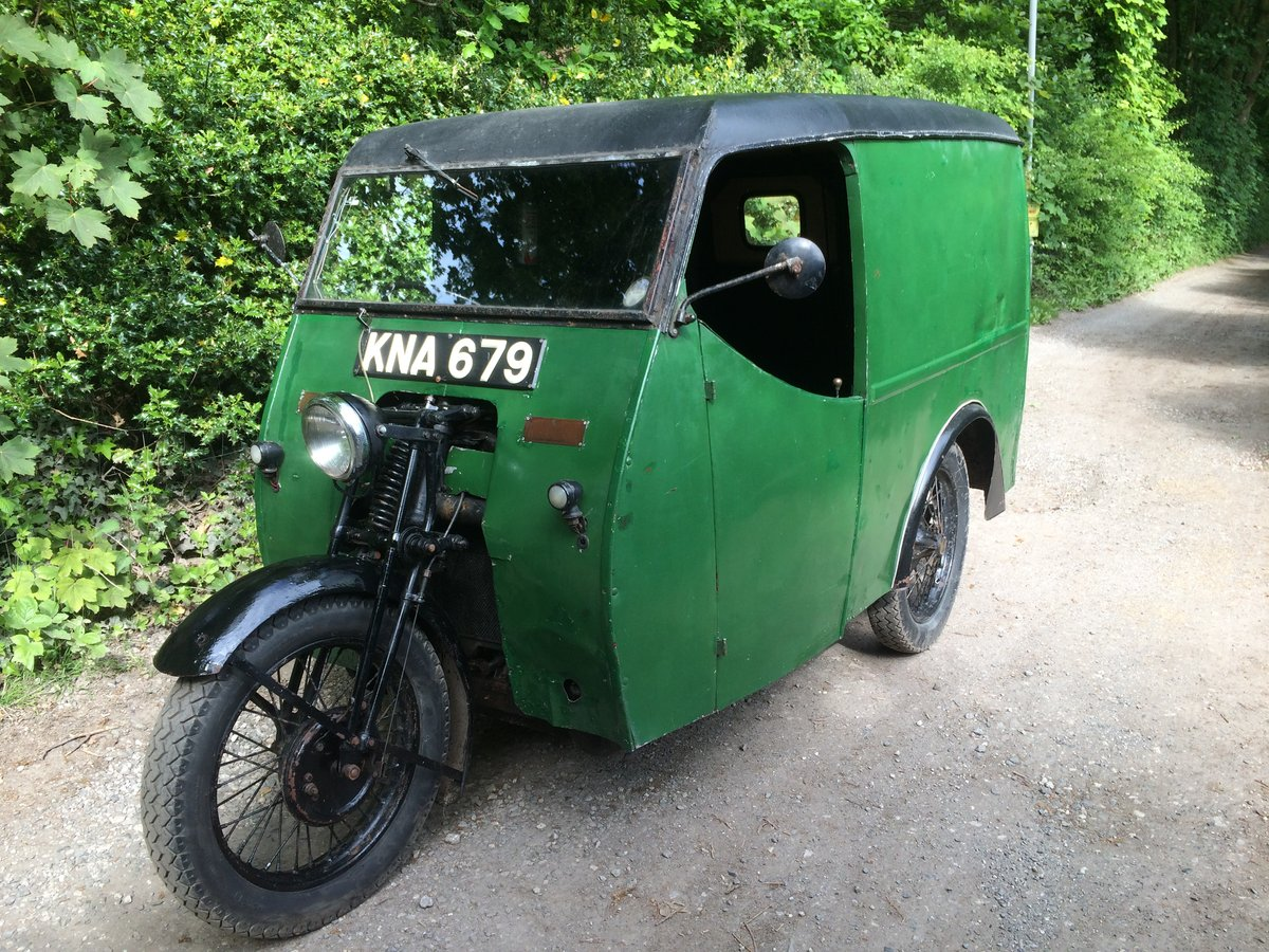 1949 Reliant Girder Fork Three Wheeler Van. For Sale (picture 1 of 6)