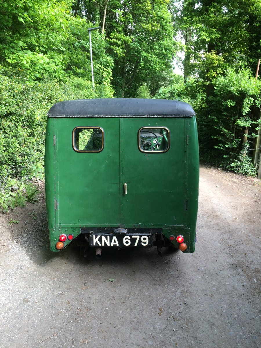 1949 Reliant Girder Fork Three Wheeler Van. For Sale (picture 4 of 6)