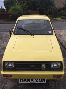 1986 Reliant Rialto 2 Saloon (Yellow)