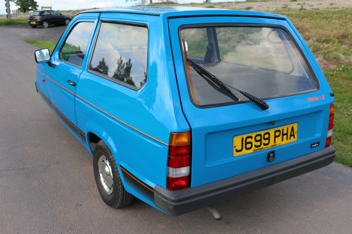 1993 Reliant Robin   MK2 SLX B1 hatchback For Sale (picture 2 of 6)