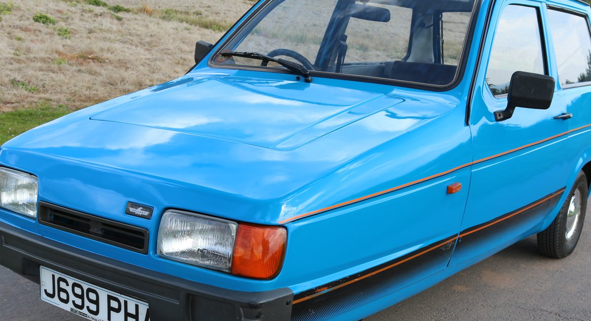 1993 Reliant Robin   MK2 SLX B1 hatchback For Sale (picture 6 of 6)