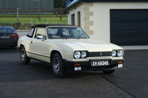 1983 Reliant Scimitar GTC For Sale by Auction