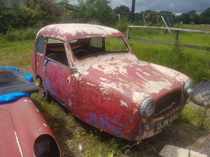 Reliant regal 1956 sidevalve for restoration For Sale