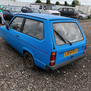 1994 Reliant Robin Low Miles Recon Engine, Rare now For Sale