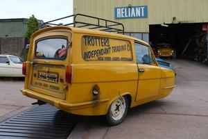 1972 Reliant  Regal Trotter Delboy van tax exempt For Sale