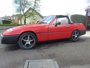 1991 Reliant Scimitar SST18ti Flame Red For Sale