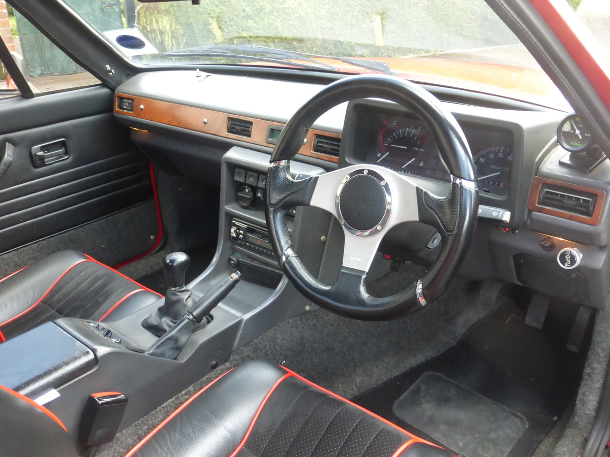 1991 Reliant Scimitar SST18ti Flame Red For Sale (picture 1 of 6)