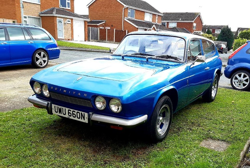 1974 Scimitar se5a gte SOLD (picture 1 of 6)