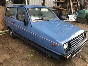 1989 Reliant Rialto SE Project car, Starts and runs well! SOLD